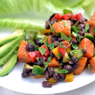 Smoky Sweet Potato and Black Bean Salad ReciPage to Print/Share Recipe