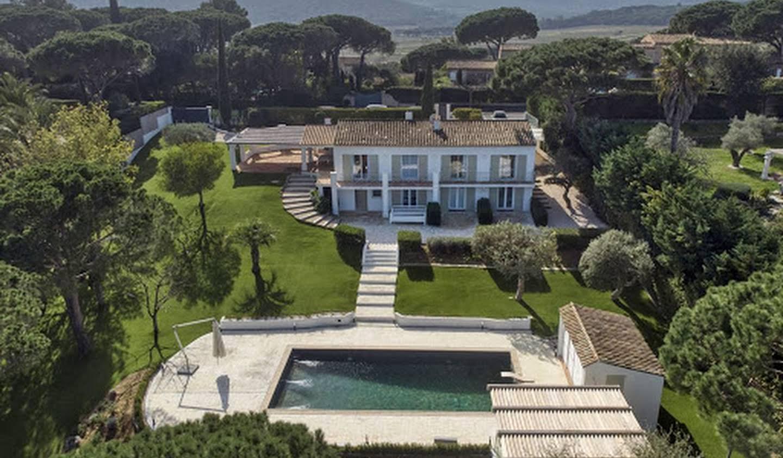 Seaside villa with pool Ramatuelle