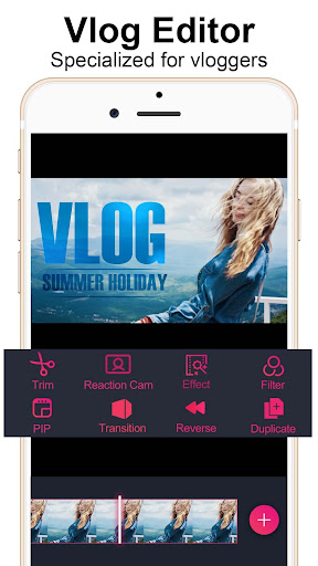 Vlog Star for YouTube - free video editor 2.2.4 screenshots 1