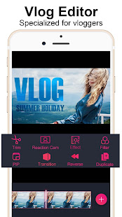Vlog Star for YouTube - free video editor