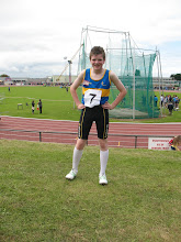 Photo: Daniel Ryan who competed in the Boys U/14 80m Hurdles