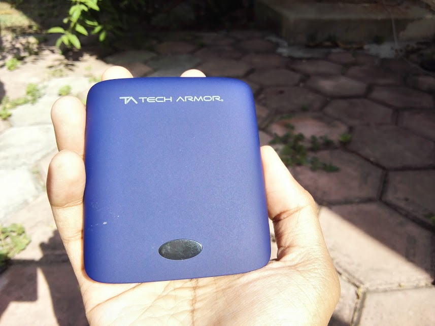 in hand experience techarmor power bank portable reliable 12000 charge phone on the go review