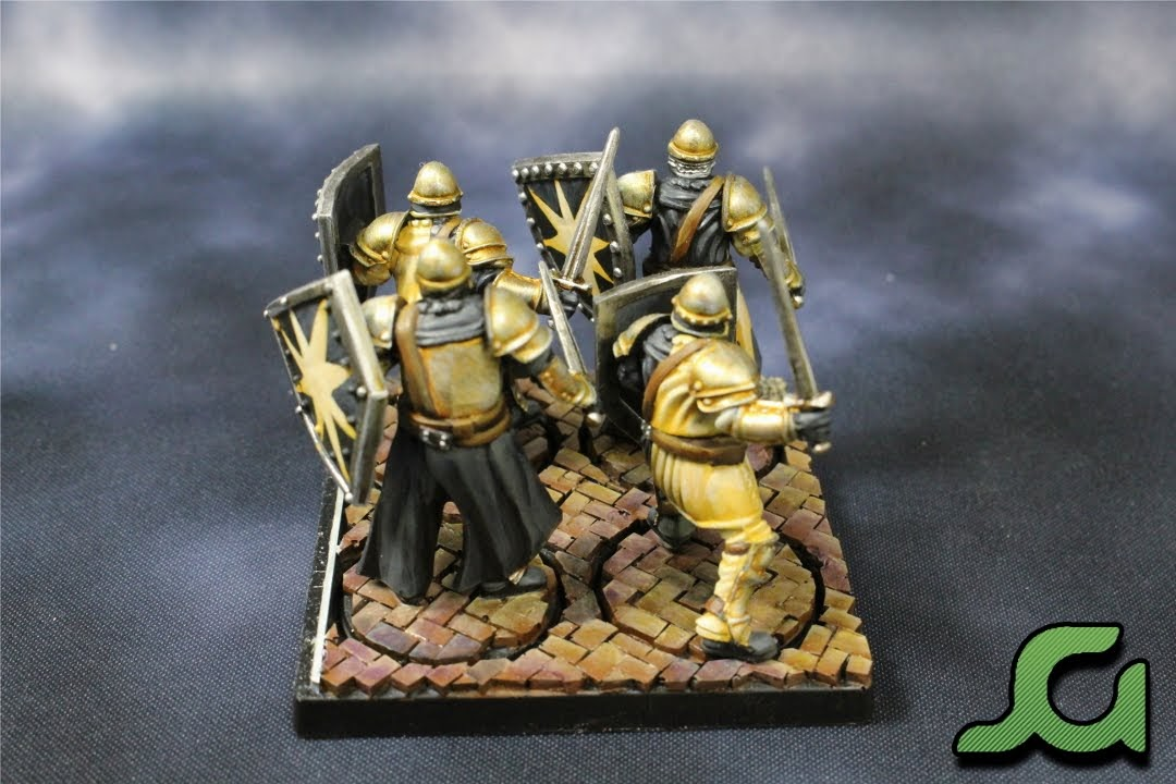 Men-at-arms stand 2 Rear