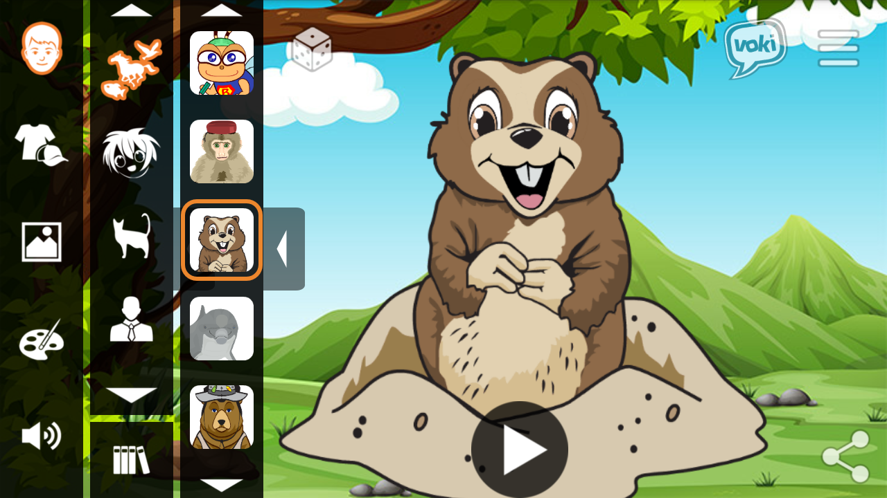 Voki For Education- screenshot
