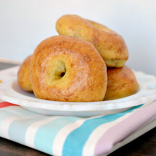 King Arthur Flour's Plain Bagels