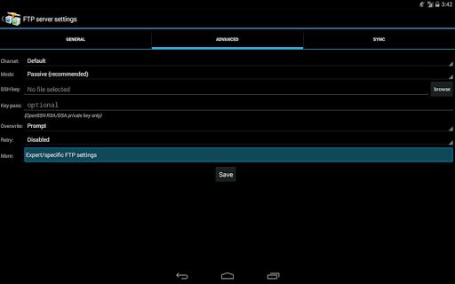 AndFTP screenshot 11