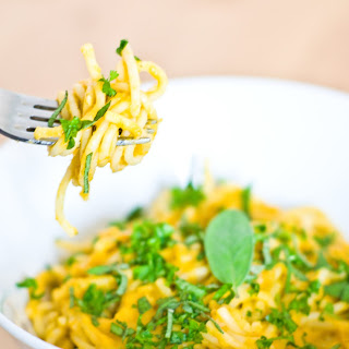 Creamy Butternut Pumpkin and Sage Pasta Recipe