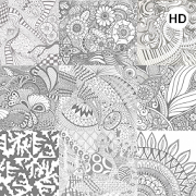 Zentangle Art Wallpaper