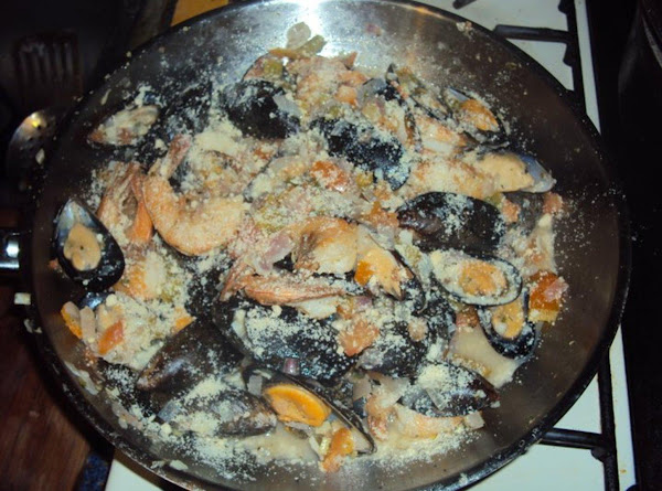 Shrimp And Mussels Sauteed Recipe