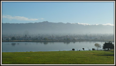 Photo: Looking due East at Berkeley