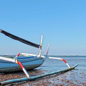 sailing ships by Wibi Prayogo - Transportation Boats