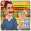 Supermarket Store Cashier – Kids Shopping Game icon