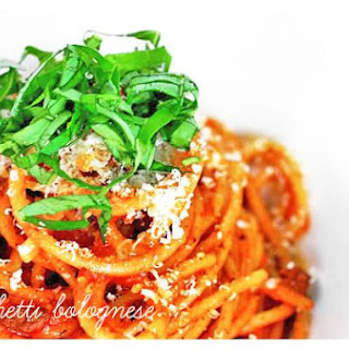 Cookinghow Spaghetti Bolognese