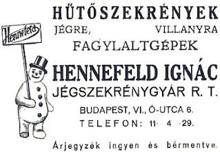 Photo: Reklama lodówek.