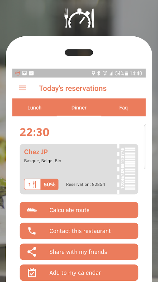 Resto Lastminute- screenshot