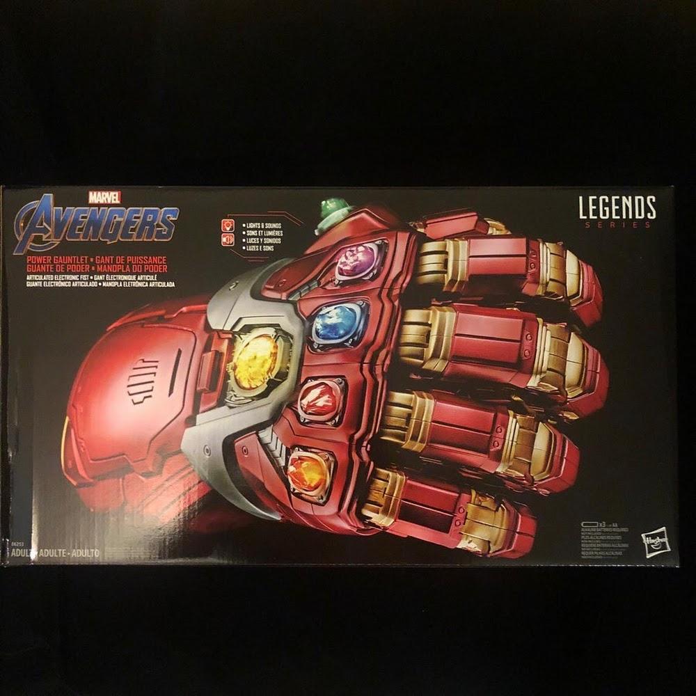 Avengers Endgame Electronic Power Gauntlet NEW PREORDER Marvel Legends Series