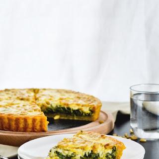 Leek Spinach Tart Recipe