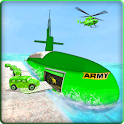 US Army Submarine Driving Prisoner Transport Games icon