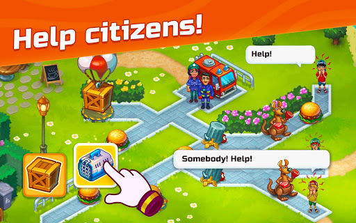 City Rescue Team: Time management game apkpoly screenshots 18