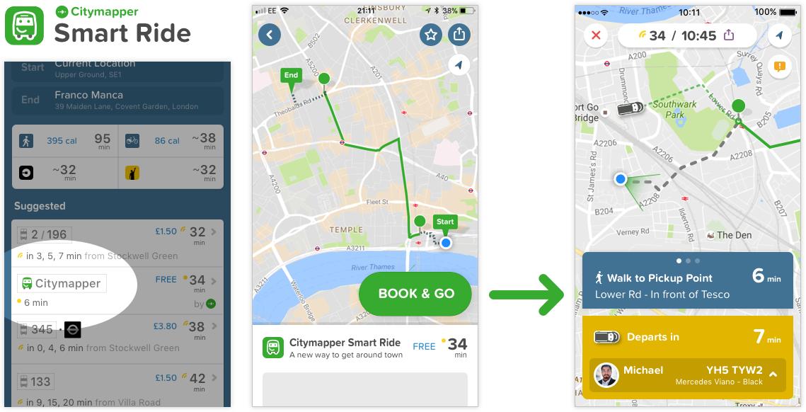 パリフランス旅行おすすめアプリCitymapper