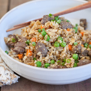Beef Cauliflower Fried Rice