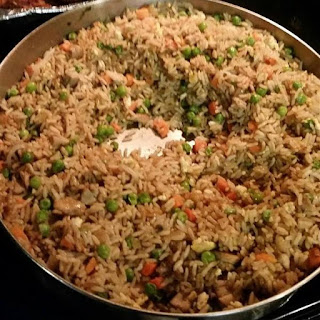 Chinese Chicken Fried Rice.