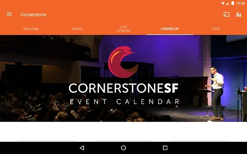 CornerstoneSF- screenshot thumbnail