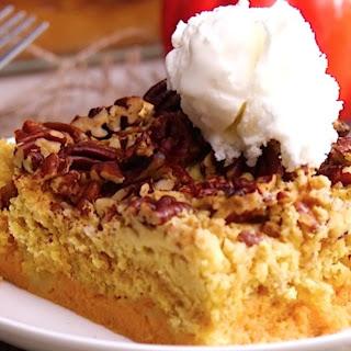Pumpkin Crumble Cake.