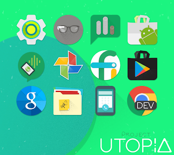 UTOPIA - Icon Pack - screenshot