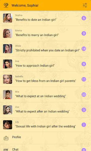 Dating with Indian girls