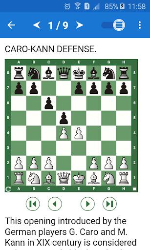 Chess Tactics in Caro-Kann Defense  screenshots 1
