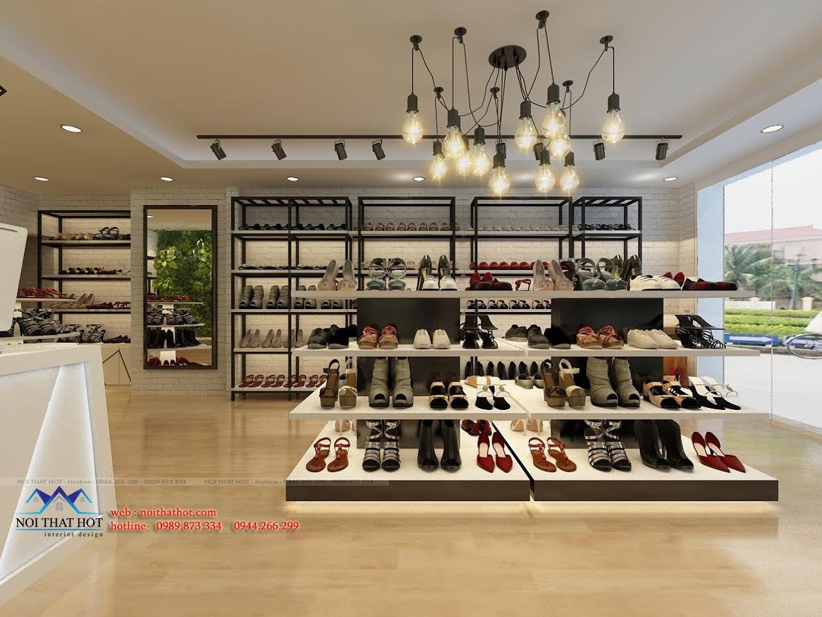 thiết kế shop giày dép chất lượng cao