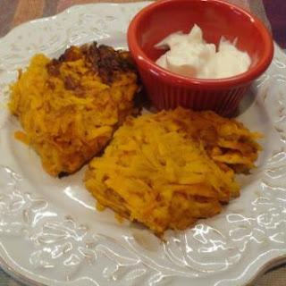 Sweet Potato Latkes (Sweet Potato Pancakes).