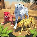 Cheetah Family Sim - Animal Simulator icon