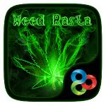 Weed Rasta GO Launcher Theme Icon