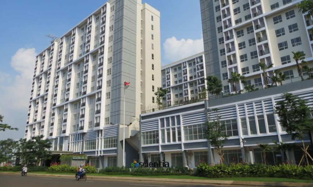 m-town residence serviced apartment gading serpong