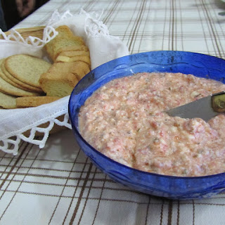 Tomato and Cottage Cheese Paste.