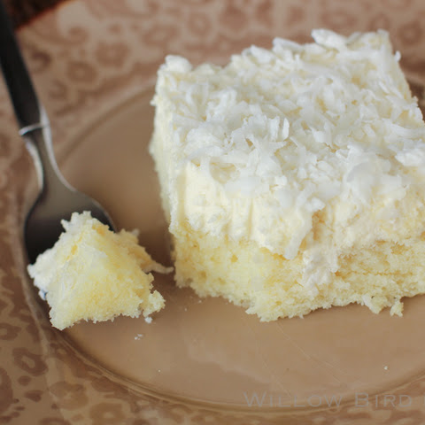 Coconut Flour Orange Cake With Coconut Oil Frosting