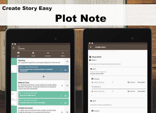 Story Plotter [ write novel, comic, movie!! ] screenshot 16
