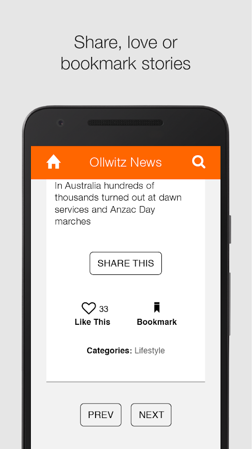 Ollwitz News by Ollwitz & Ptrs- screenshot