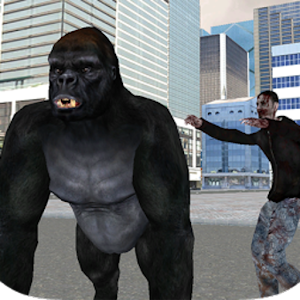 Real Gorilla vs Zombies – City for PC and MAC