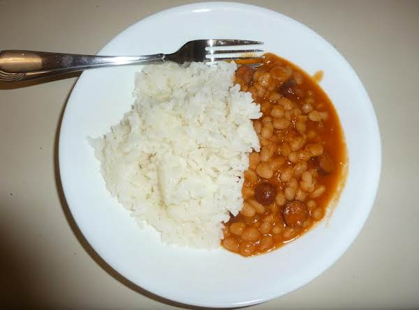 Beans With Little Smokies (smoked Sausages)