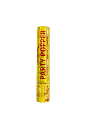 Party Popper, guld 28 cm