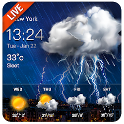 Daily Weather Live Widget