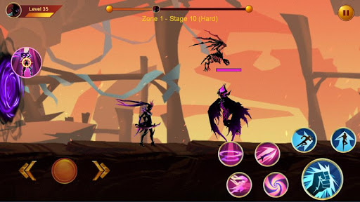 Shadow fighter 2: Shadow & ninja fighting games - screenshot