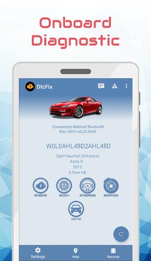dtcfix - wifi/bluetooth car fault code diagnostic screenshot 2