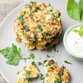 Gluten-Free Crispy Vegetable Fritters Recipe