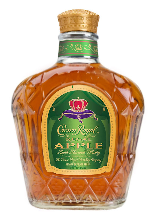 Logo for Crown Royal Regal Apple