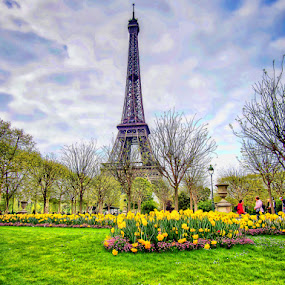 Paris by Morris John John Uy - City,  Street & Park  City Parks