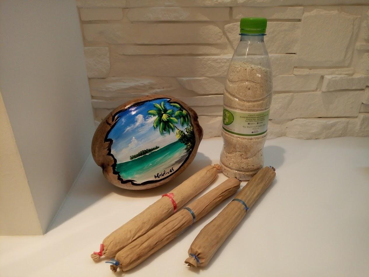Сувениры с Мальдив что привезти бонди кокос и песок